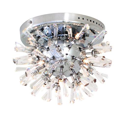 Spikey Crystal C/Light 290mm Chrome