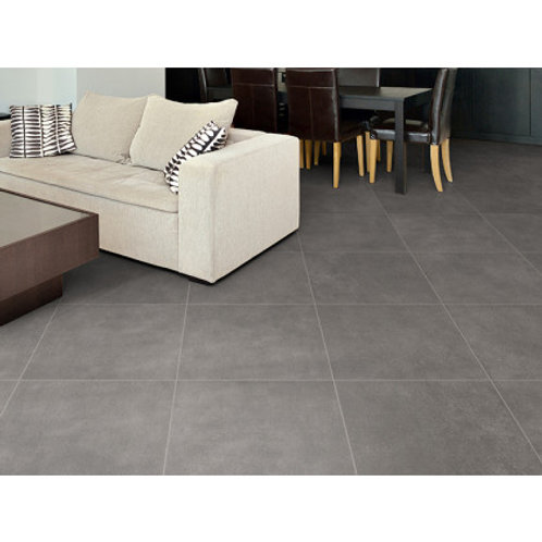 600 x 600 Soho Smoke Floor Tile per m2