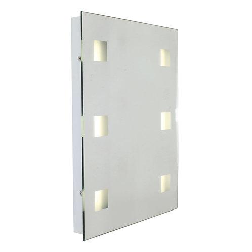 Bathroom Mirror W/Light 390mm White