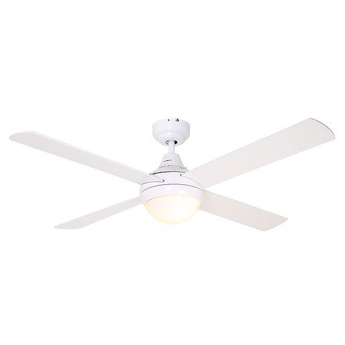 Twister Ceiling Fan 4 Blades White