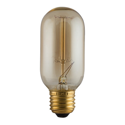 CB Amber Filament Mini Tubular E27 40w Squirrel Cage