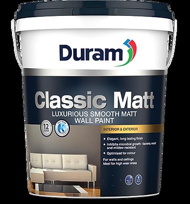 DURAM CLASSIC MATT 20LT - MOHAIR