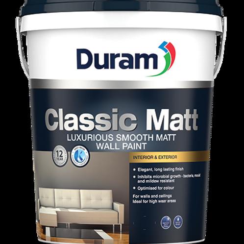 DURAM CLASSIC MATT 20LT - CRYSTAL