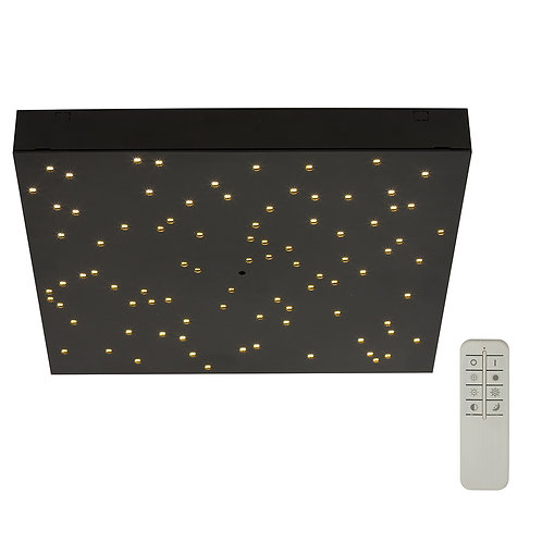 Celling Light Black Led 8W 3000-4000K Dimmable