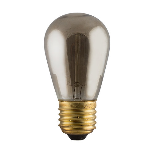 Smokey CB Filament Mini Pear-shape E27 40w