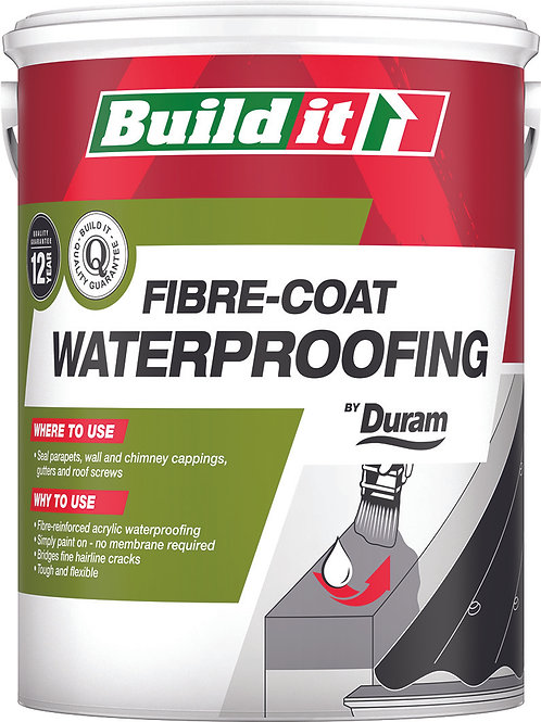 BUILD IT FIBRECOAT RED 5L