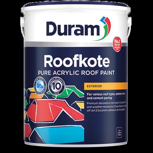 DURAM ROOFKOTE  5LT - CHARCOAL