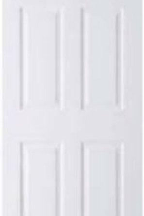 6 Panel White Door