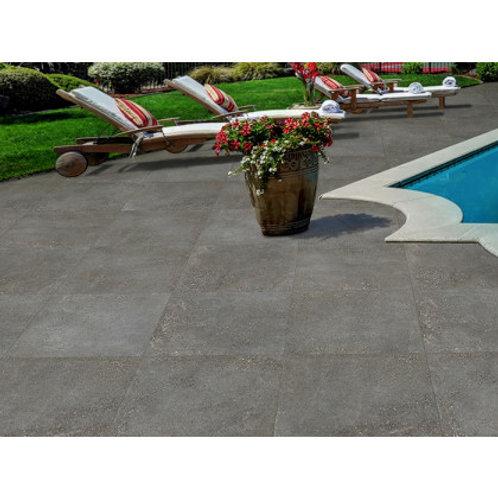 600 x 600 Harbour Charcoal Slip Resistant per m2