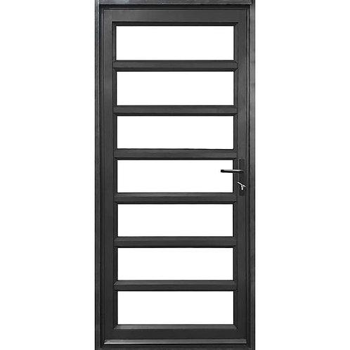 Horizontal Aluminium Entrance Door