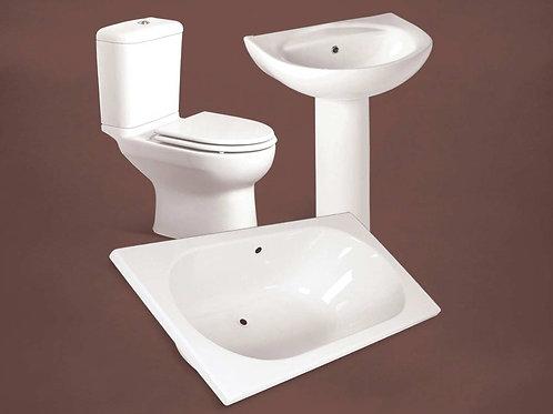 Bathroom Set White
