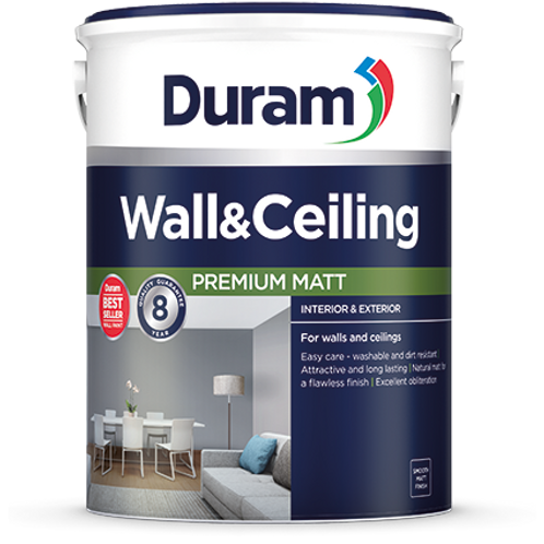 DURAM WALL & CEILING  5LT - RIVER STONE