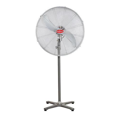 Hurricane Standing Fan 2 Blades Silver