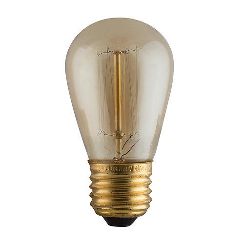 CB Amber Filament MiniPear-shape E27 40w