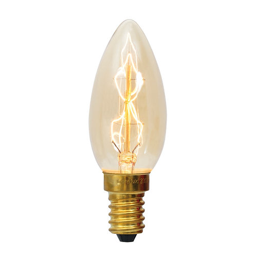 CB Filament ZigZag Candle E14 40w