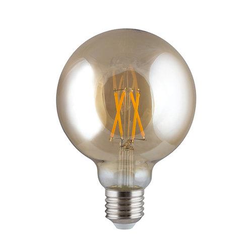 LED Amber Filament Maxi Globe E27 4w WW
