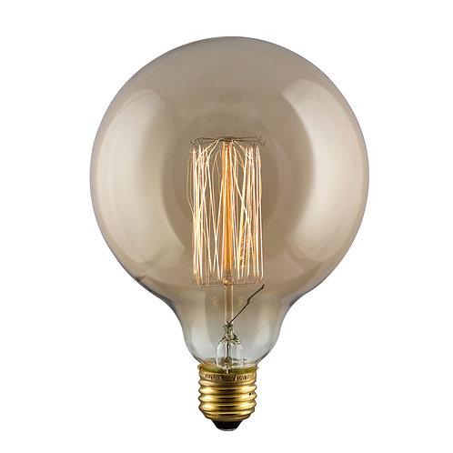 Amber CB Filament Maxi Globe E27 60w