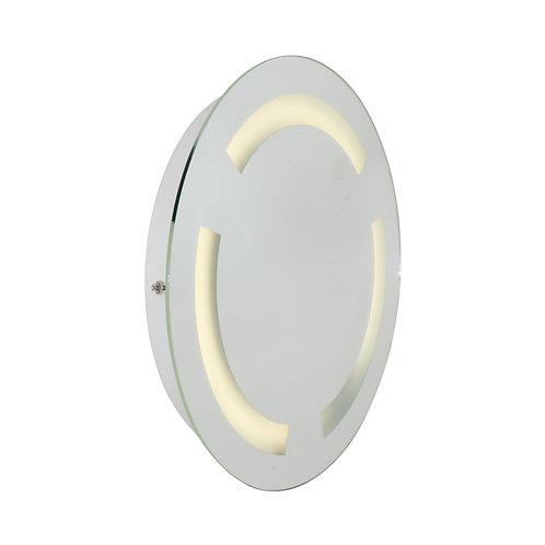 Bathroom Mirror W/Light 500mm White
