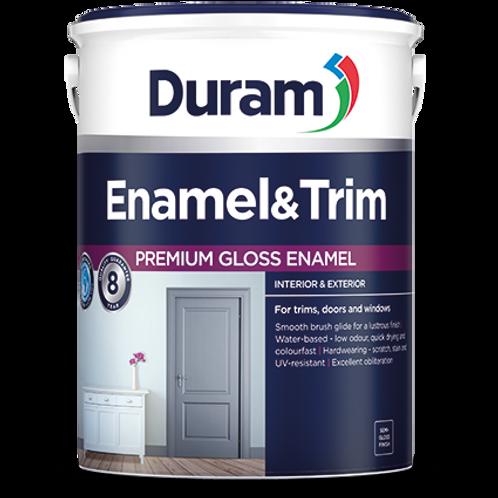 DURAM ENAMEL & TRIM 5LT - BATLLESHIP GREY