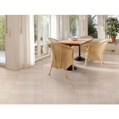600 x 600 Polis Ivory Floor Tile per m2