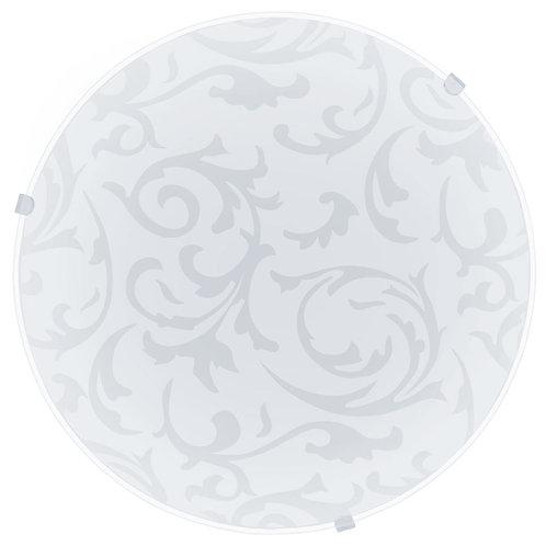 Mars C/Light Floral 250mm White