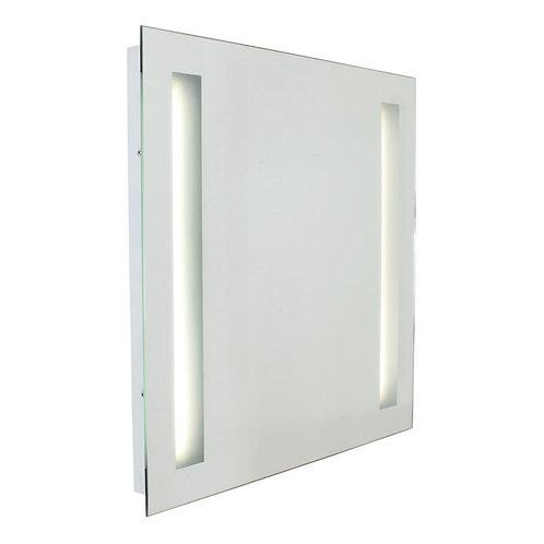Bathroom Mirror W/Light 600mm White