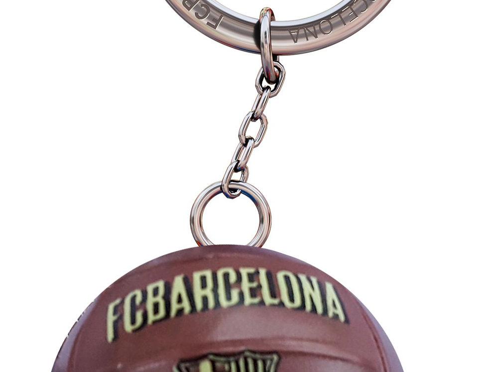 FCB Vintage Ball Keychain
