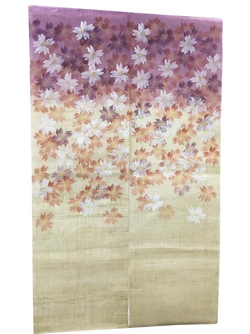 "Noren Tapestry ""Sakura2"" Cherry Blossoms"