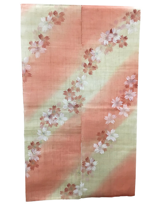 "Noren Tapestry ""Sakura3"" Cherry Blossoms"