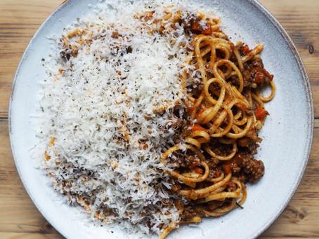My perfect spaghetti bolognese