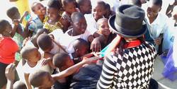 Ingo at Missionary School, Zimbabwe 2011 reduced