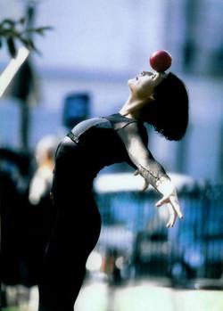 Ingo performing in Paris.