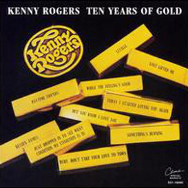 Kenny Rogers – Ten Years Of Gold CD