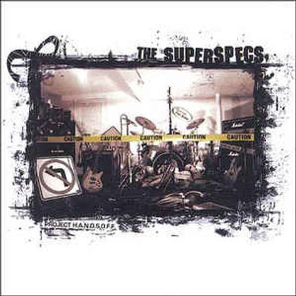 The Superspecs – Project H.A.N.D.S.O.F.F. CD