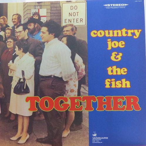 Country Joe And The Fish ‎– Together (LP)