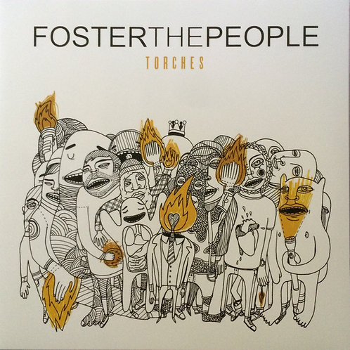 TORCHES by FOSTER THE PEOPLE (LP)