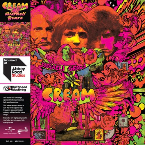 Cream - Disraeli Gears (Half Speed Master) (LP)