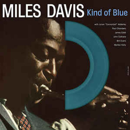 Davis, Miles - Kind Of Blue (Blue Vinyl) (Die Cut Sleeve) (Import) (L.P.)