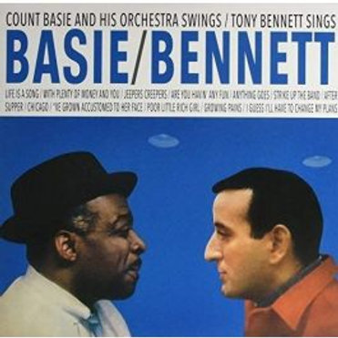 Count Basie & Tony Bennett - Basie Swings Bennett Sings (LP)