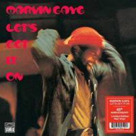 Marvin Gaye - Let's Get it on (45th Anniversary Edition, Limited Red Vinyl) (LP)