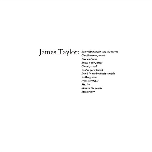 James Taylor - Greatest Hits (LP)