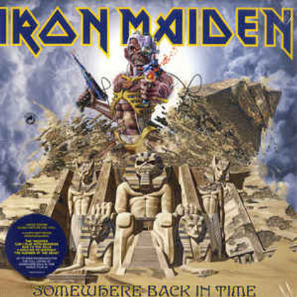 Iron Maiden – Somewhere Back In Time - The Best Of: 1980-1989 (LP)