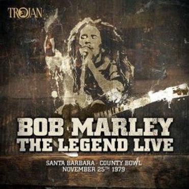 Bob Marley & The Wailers - The Legend Live @ Santa Barbara County Bowl (LP)