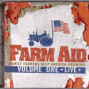 Various–Farm Aid; Volume One ★ Live ★ (CD)