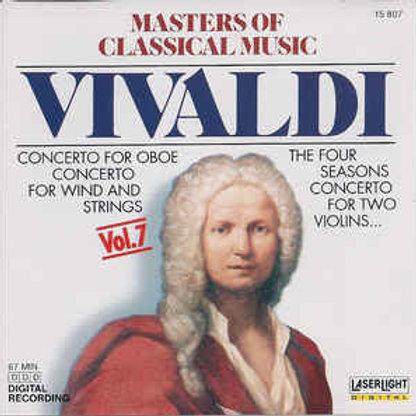 Vivaldi*–Masters Of Classical Music, Vol.7 (CD)