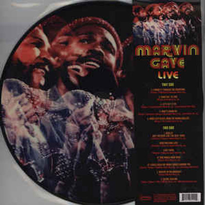 Gaye, Marvin - Live (Limited Edition Picture Disc Vinyl) (L.P.)