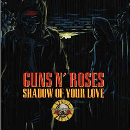 """Guns N' Roses - Shadow of your love/Move to the city (Exclusive 7"""" Red Vinyl)"""