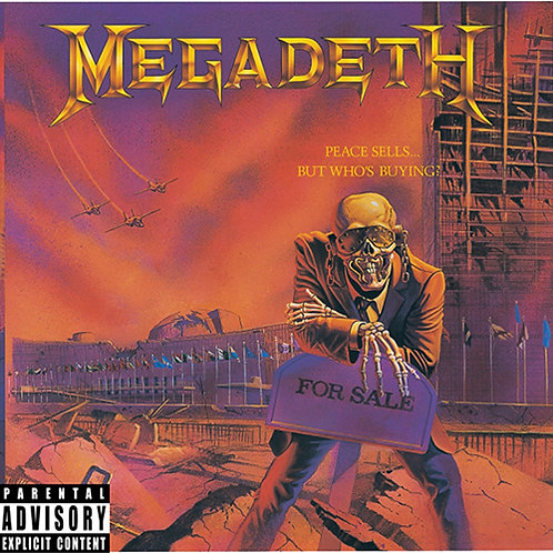 Megadeth - Peace Sells... But Who's Buying (LP) purple vinyl