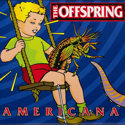 The Offspring 20th anniversary edition Red vinyl lenticular cover (LP)