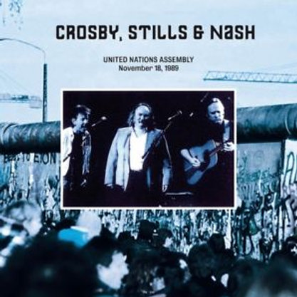 Crosby/ Stills & Nash - United Nations Assembly / November 18 / 1989 Un-Fm